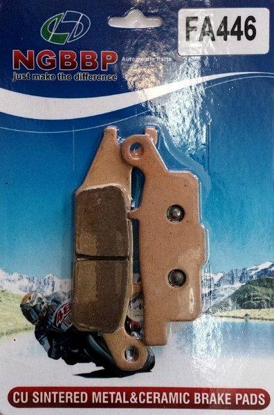 Тормозные колодки NGBBP для Yamaha FA446