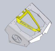 Вынос радиатора на Stels Guepard 650/800