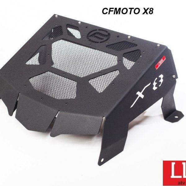 Вынос радиатора на CFMOTO X8