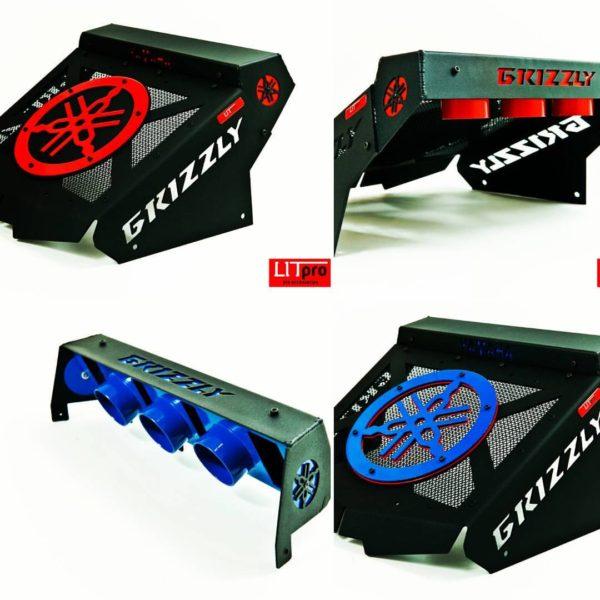 Вынос радиатора с крышкой под шноркеля Yamaha Grizzly 700/550