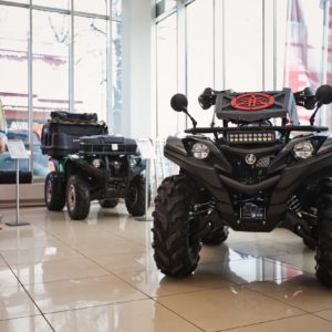 Вынос радиатора на Yamaha Grizzly 700/Kodiak 2016мг+